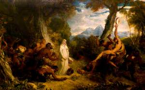 Una and the Satyrs
