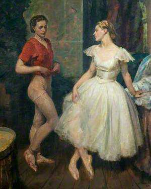 Preparation for the Ballet