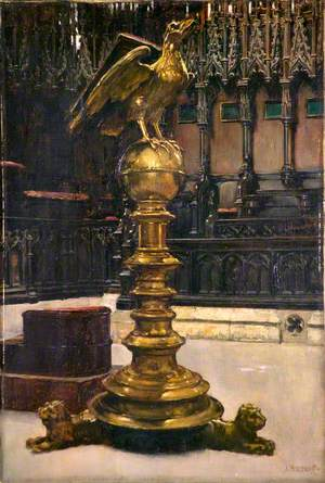 Lectern, Lincoln Cathedral