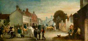 Lincoln High Street, Two Years after the Coming of the Railways