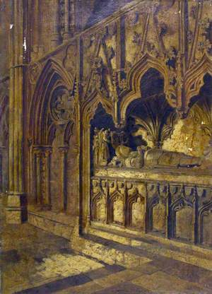The Tomb of Sir Bartholomew Burghersh, Lincoln Cathedral