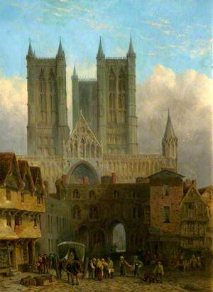 Lincoln Cathedral and the Exchequer Gate