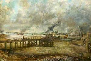 Ferry at Tilbury, Essex