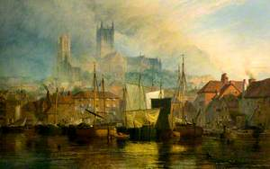 Lincoln Cathedral from Brayford