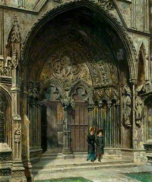 The Judgement Porch, Lincoln Cathedral