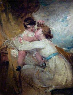 Harriet Hilton (1791–1866) and Child (Helen Hilton, 1811–1873)