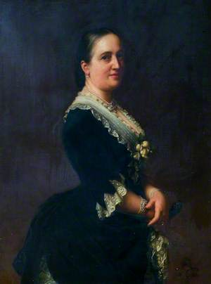 Mary Georgiana, Wife of Coningsby Charles Sibthorp