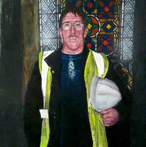 Study for Cathedral Painting VI, Stuart Bonfield, Supervisor