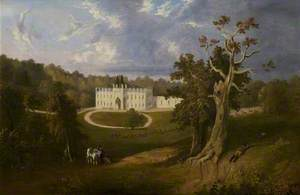 View of Donington Hall and Grounds, Leicestershire