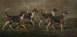 Quorn Hounds, 'Batsman', 'Baffler', 'Weaver' and 'Batchelor'