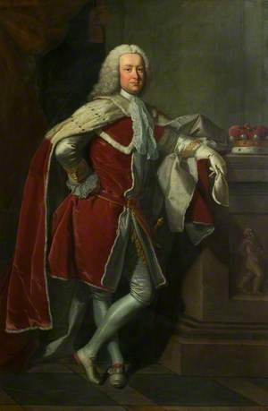 Lord Edward Noel (1715–1774), 9th Baron, 1st Viscount Wentworth