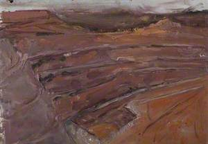 Dusk, Mountsorrel Quarry, Leicestershire
