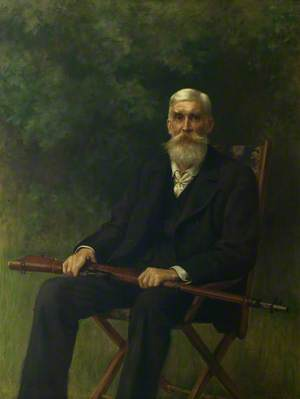 Colonel Sir Henry St John Halford (1828–1897), Bt, CB, VD, Chairman of Leicestershire County Council (1889–1893)