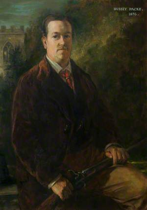 Mr Hussey Packe, DL, Chairman of Leicestershire County Council (1893–1908)