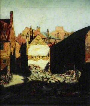 Ruined House (Louth Flood Damage, 29 May 1920)