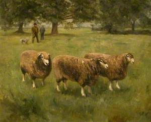 Henry Dudding and His Shepherd, Richard Aves
