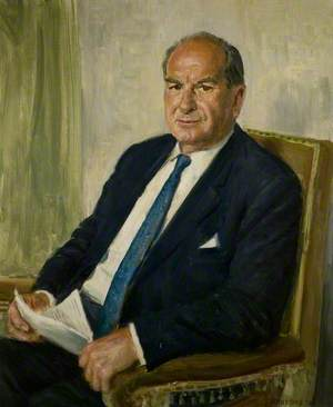 Charles W. Heathcote, Chairman of Robey & Co. Ltd of Lincoln (1969–1972)