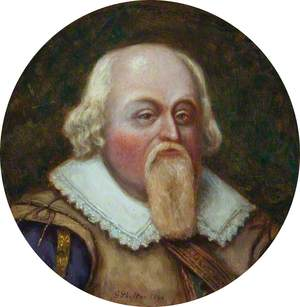 Elizabethan Portrait of an Unknown Gentleman