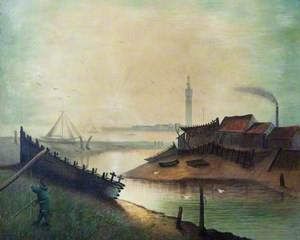 Grimsby Docks and Tower, Lincolnshire