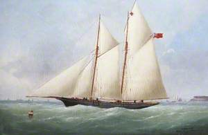 Schooner off the Coast