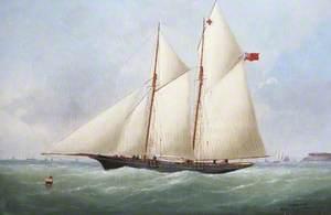 Schooner off the Coast