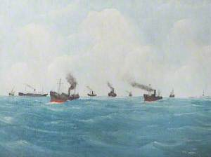 Convoy off a Lighthouse