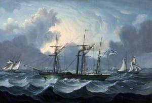 The 'Yorkshireman' at Sea with a Storm Threatening