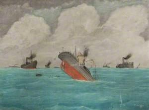 A Ship Sinking