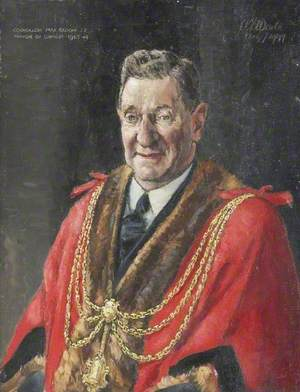 Councillor Max Bloom, JP, Mayor of Grimsby (1943–1944)