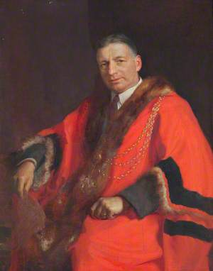 Councillor W. R. Womersley, Mayor of Grimsby (1922–1923)