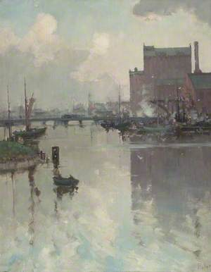 Victoria Mill and Alexandra Dock, Grimsby, Lincolnshire