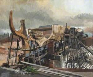 Slipway, Grimsby Docks, Lincolnshire