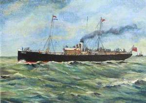 Great Eastern Railway Steamship 'Lincoln'