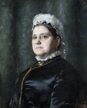 Portrait of a Lady with a White Cap