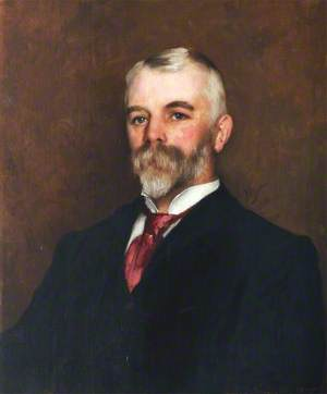 Portrait of an Unknown Man with a Beard