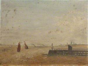 The Mouth of the Humber from Grimsby Docks, Lincolnshire
