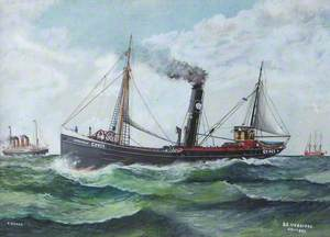SS 'Uxbridge', Grimsby