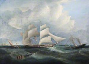 Three-Masted Frigate