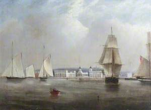 The Thames at Greenwich, London