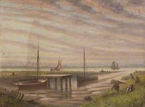 The Last Phase of Grimsby's Old Harbour Entrance, Lincolnshire