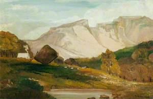 Bowder Stone, Keswick, Cumberland