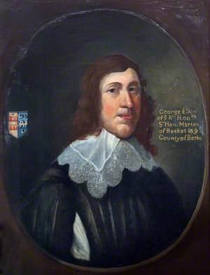 George Marten of Becket, Berkshire
