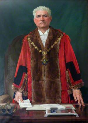 Portrait of an Unidentified Mayor of Scunthorpe