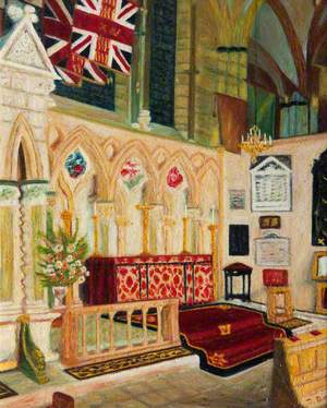 The Soldiers' Chapel of St George, Lincoln Cathedral