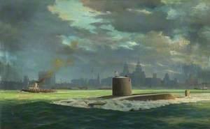 HMS 'Renown' Polaris Submarine's Maiden Voyage