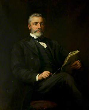 Alderman Edward Wood (1839–1917), JP, Mayor of Leicester (1888, 1895, 1901 & 1906)