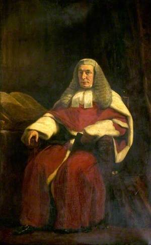 The Right Honourable Sir John Mellor (1808–1887), Bt, Judge