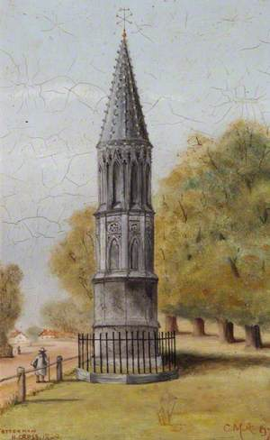 Tottenham High Cross in 1820