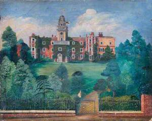 Bruce Castle, South View, c.1850