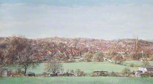 Shepherds Hill, Highgate, Viewed across Crouch End Playing Fields